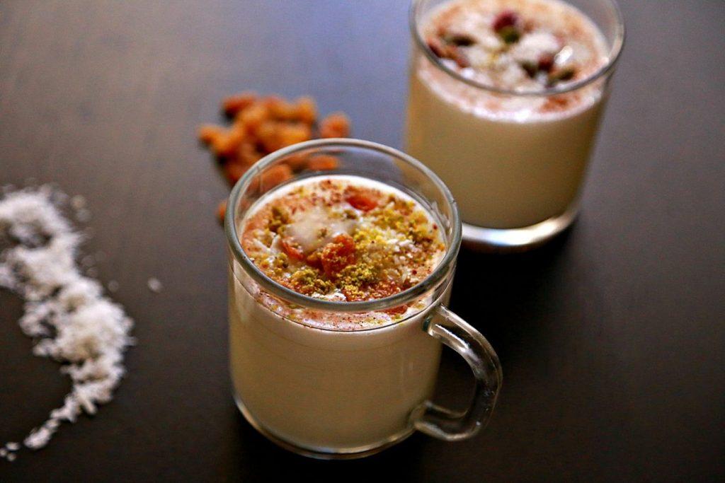 sahlab minuman khas arab terbuat dari susu