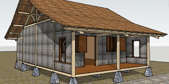 arsitektur rumah sulah nyamda