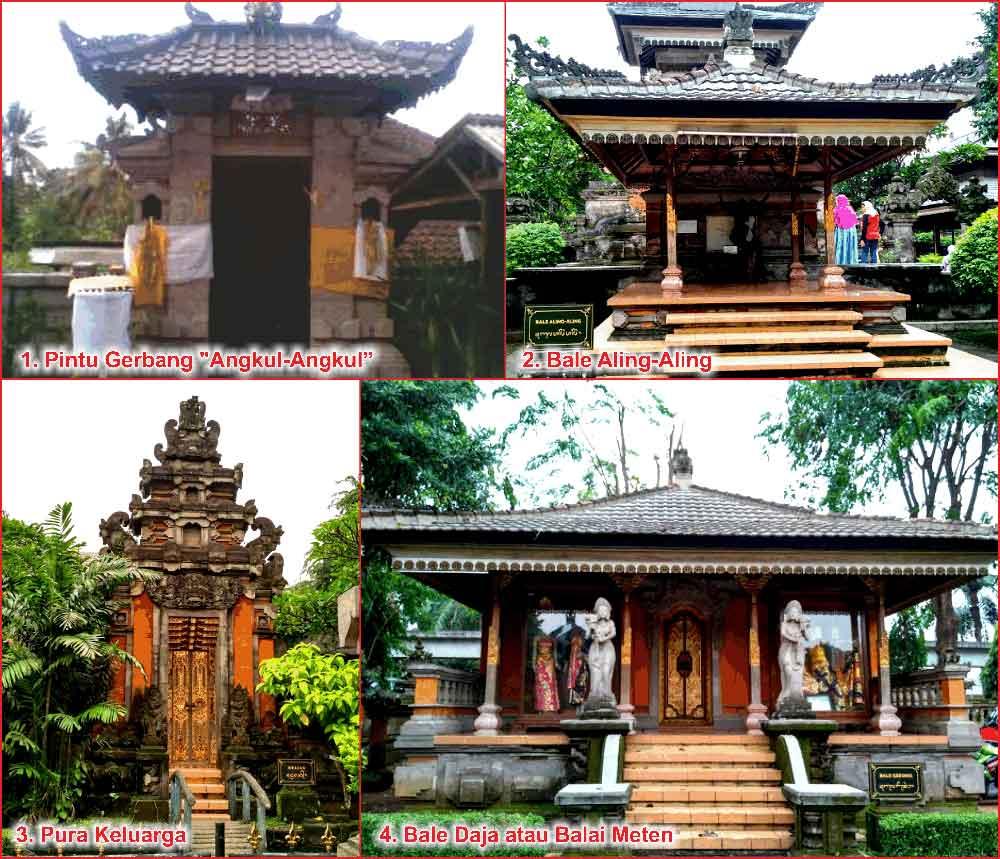 Rumah Adat Gapura Candi Bentar Berasal Dari Daerah Rumah Adat Bali Nama Arsitektur Ciri Khas Fungsi