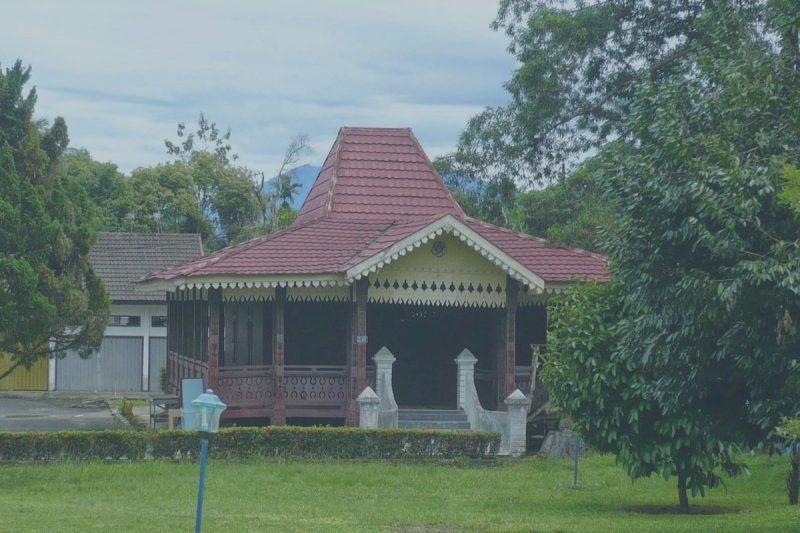 Rumah Adat Sumatera Selatan Nama Jenis Gambar