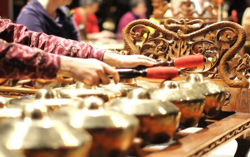bonang, alat musik Jawa Tengah