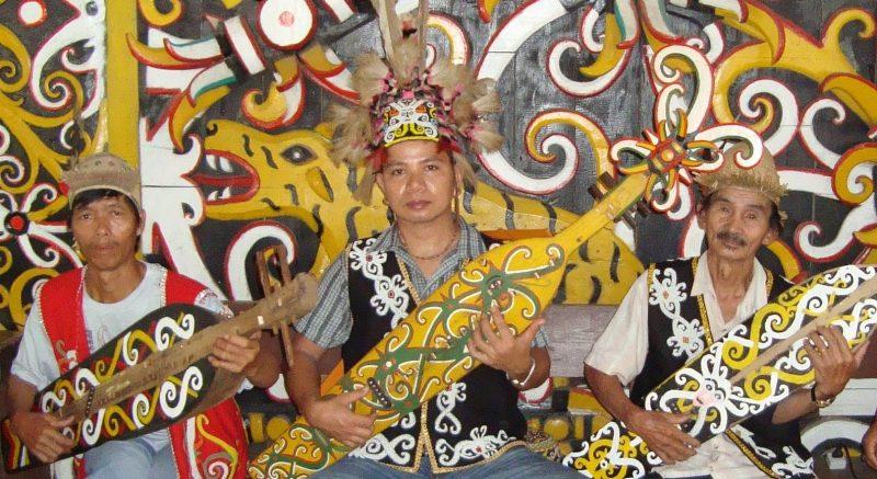 Alat Musik Kalimantan Timur, sampe