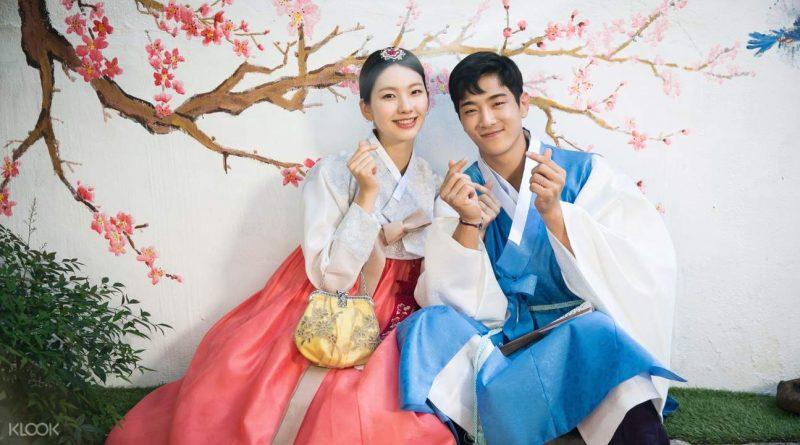 baju tradisional korea