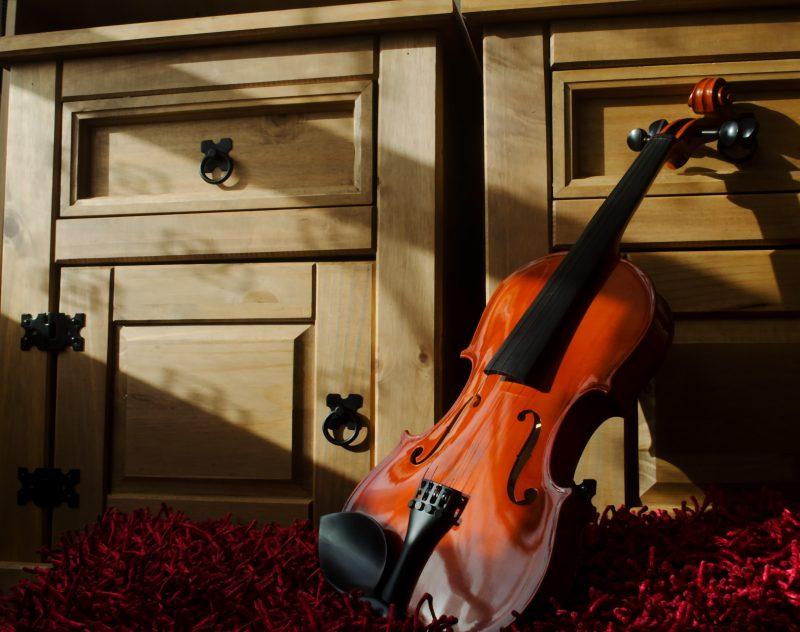 Violin, salah satu alat musik gesek dunia