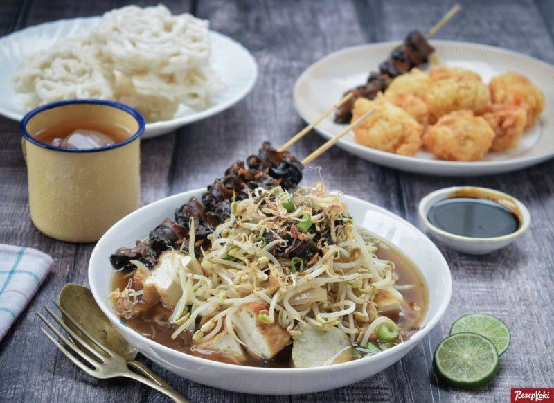 lontong balap terkenal sebagai makanan khas dari surabaya