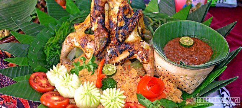 pecel pitik makanan khas banyuwangi