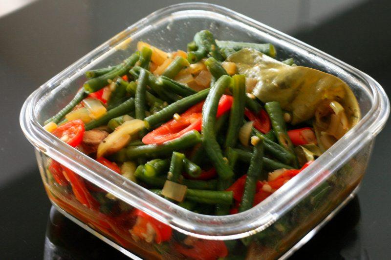 Makanan khas tumis kacang panjang banjar