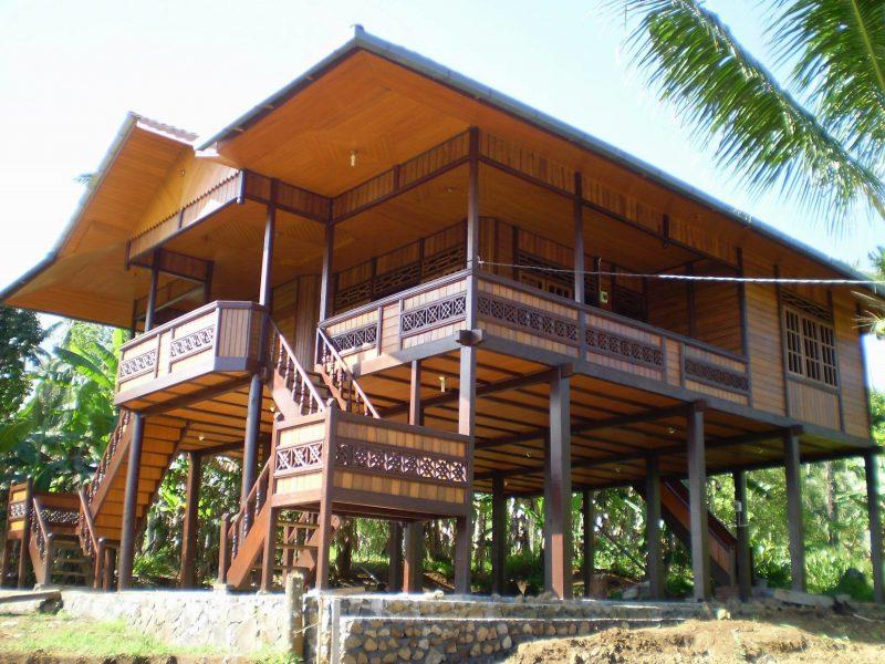 rumah tradisional sulawesi utara