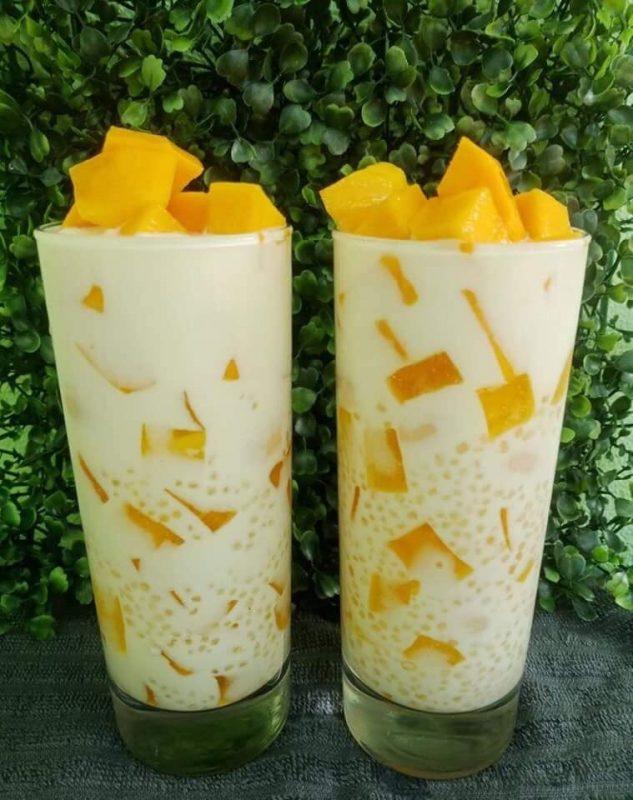 Sagu 't Gulaman minuman khas filipina
