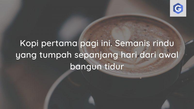 kata kata kopi romantis