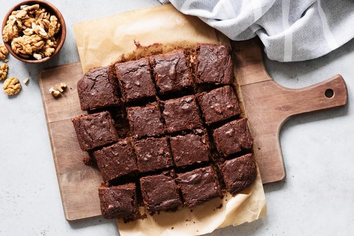 contoh teks prosedur cara membuat makanan brownies