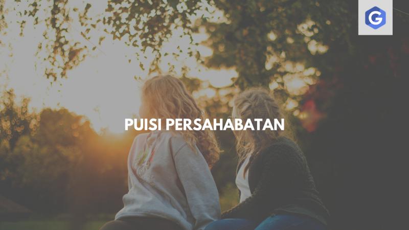 puisi persahabatan