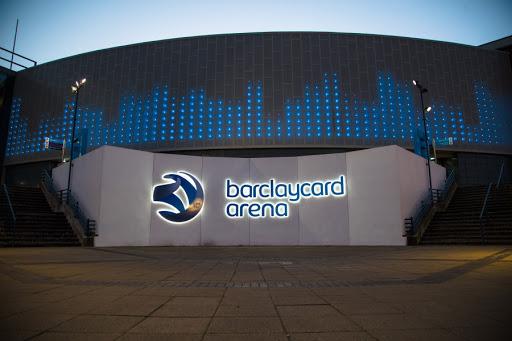 barclaycard arena dalah stadion bulu tangkis terbaik di dunia