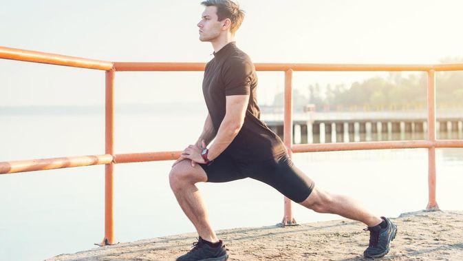 latihan fisik bola voli peregangan
