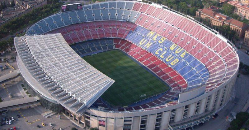 Camp Nou Spanyol menjadi satdion terbesar di dunia