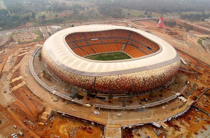 FNB Stadium on South Africa