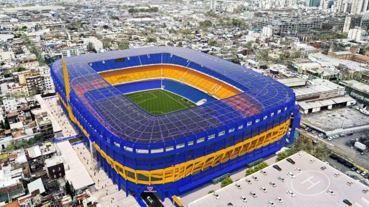 La Bombonera adalah stadion termegah di dunia