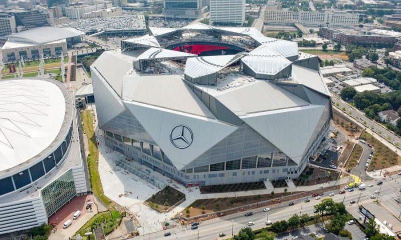 Mercedes-Benz Stadium menjadi stadion termegah di dunia