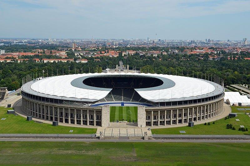 Olympia Stadion selain menjadi staion termegah di dunia, namun indah