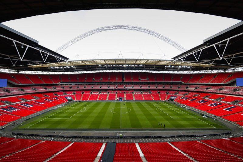 Wembley Stadium adalah stadion termegah yang ada di inggris dan dunia